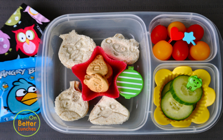 Angry Birds EasyLunchbox bento school lunch