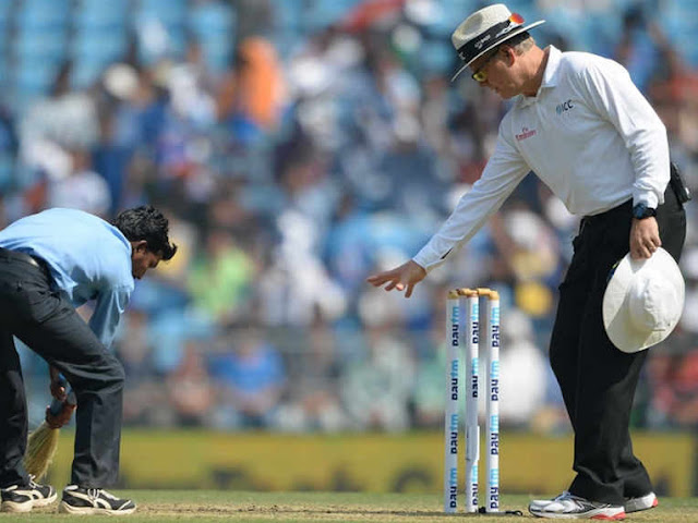 Nagpur pitch rated as 'poor' by ICC Match Referee