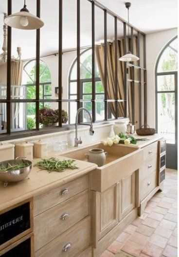 Awesome Style Cuisine Campagne Chic Contemporary - Awesome Interior ...
