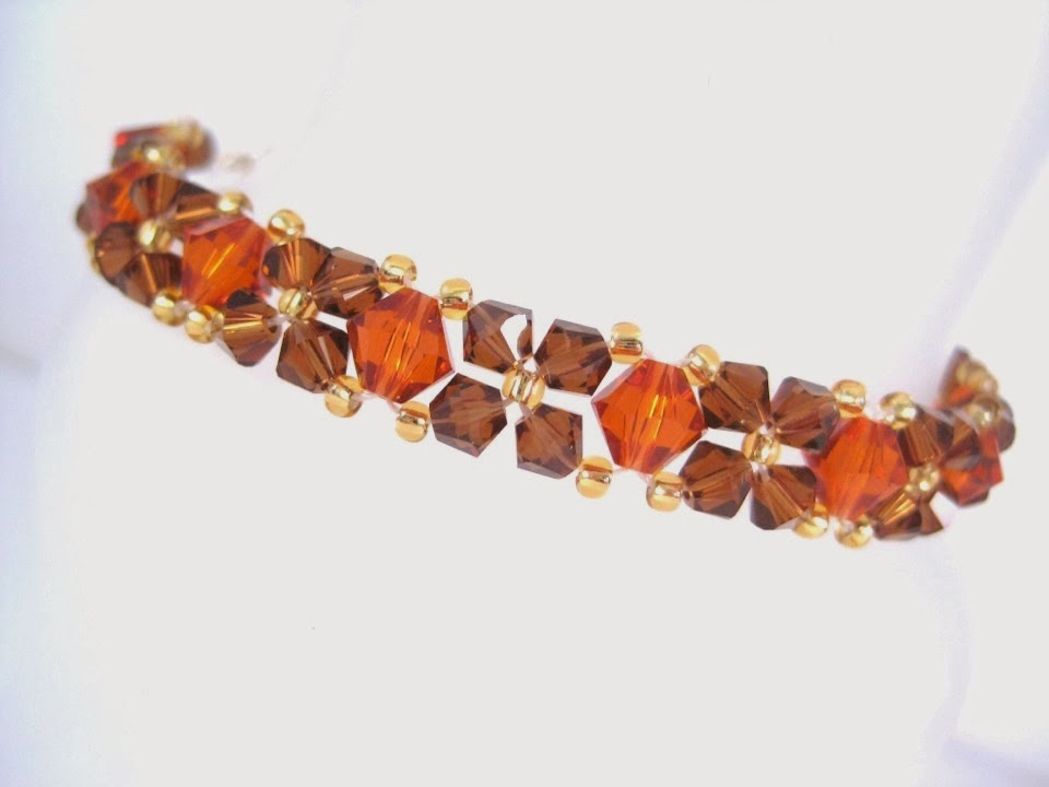 Autumn Crystal Bracelet