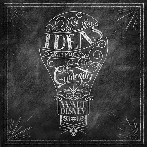 Ideas come from curiousity!