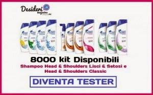 Ambasciatrice Progetto Head & Shoulders con Desideri Magazine