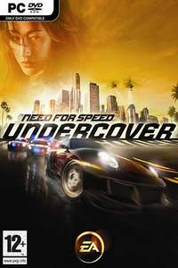 Need for Speed Undercover-Cover