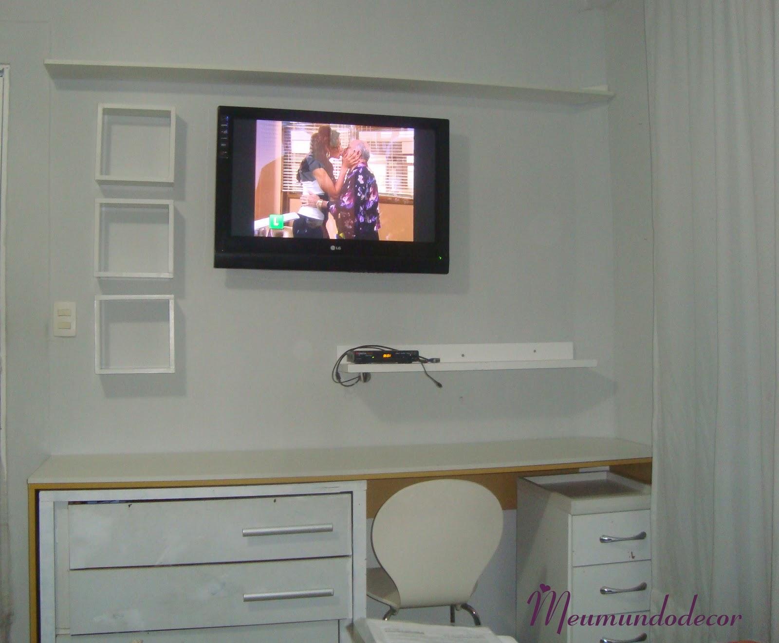 Meu mundo Decor: Home Office Mesa #904E3B 1600x1321