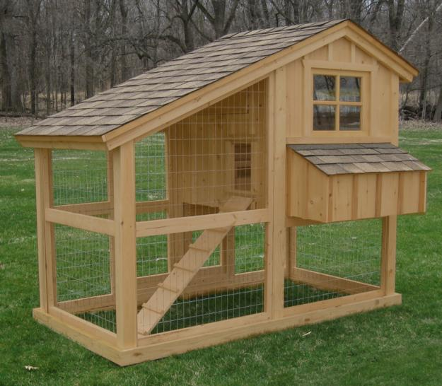 Small chicken coop how to build a chicken coop and run for Small chicken house plans