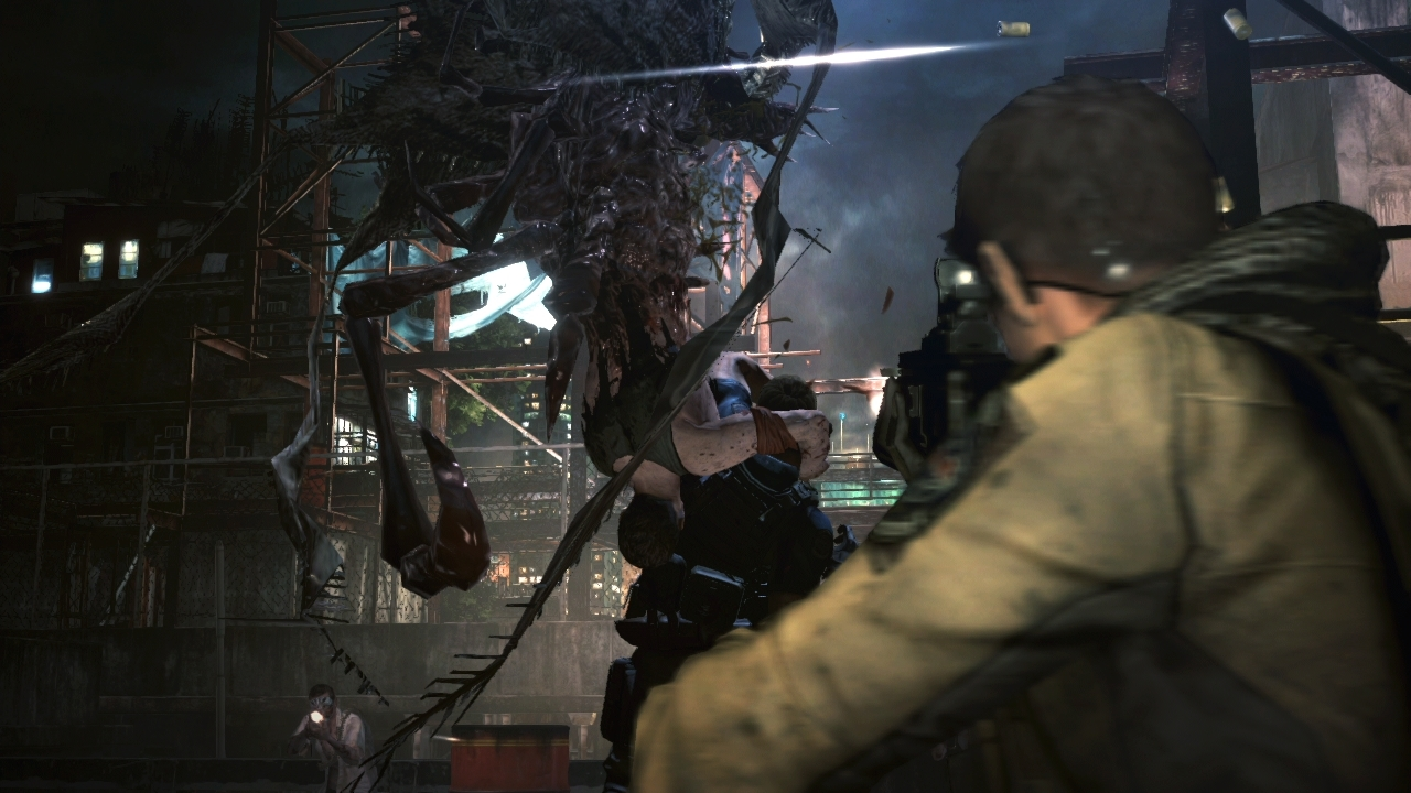 Resident Evil 6 Elicottero : Resident evil first ingame graphics pictures xbox