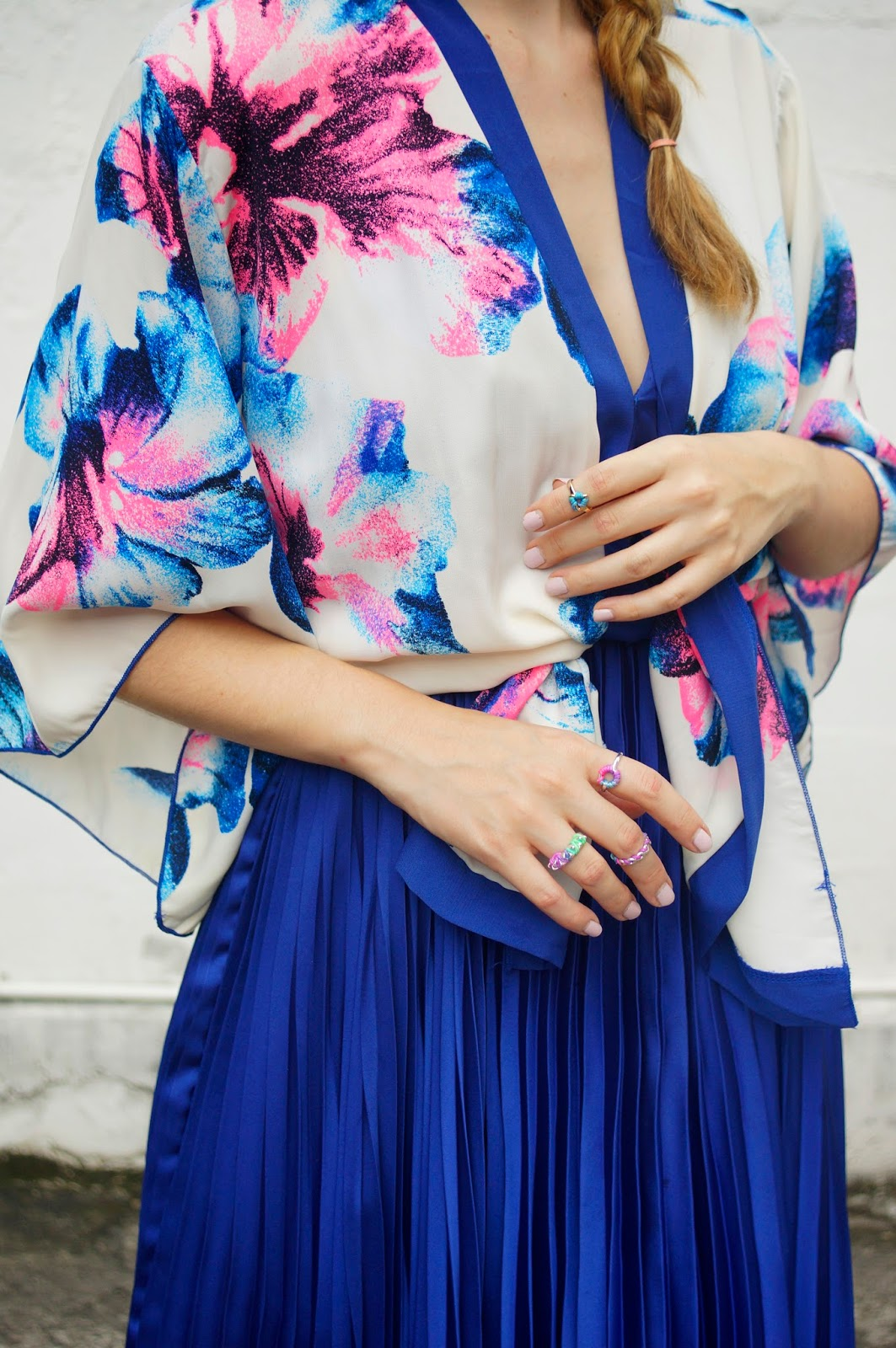 Floral Kimonos are perfect for Spring!