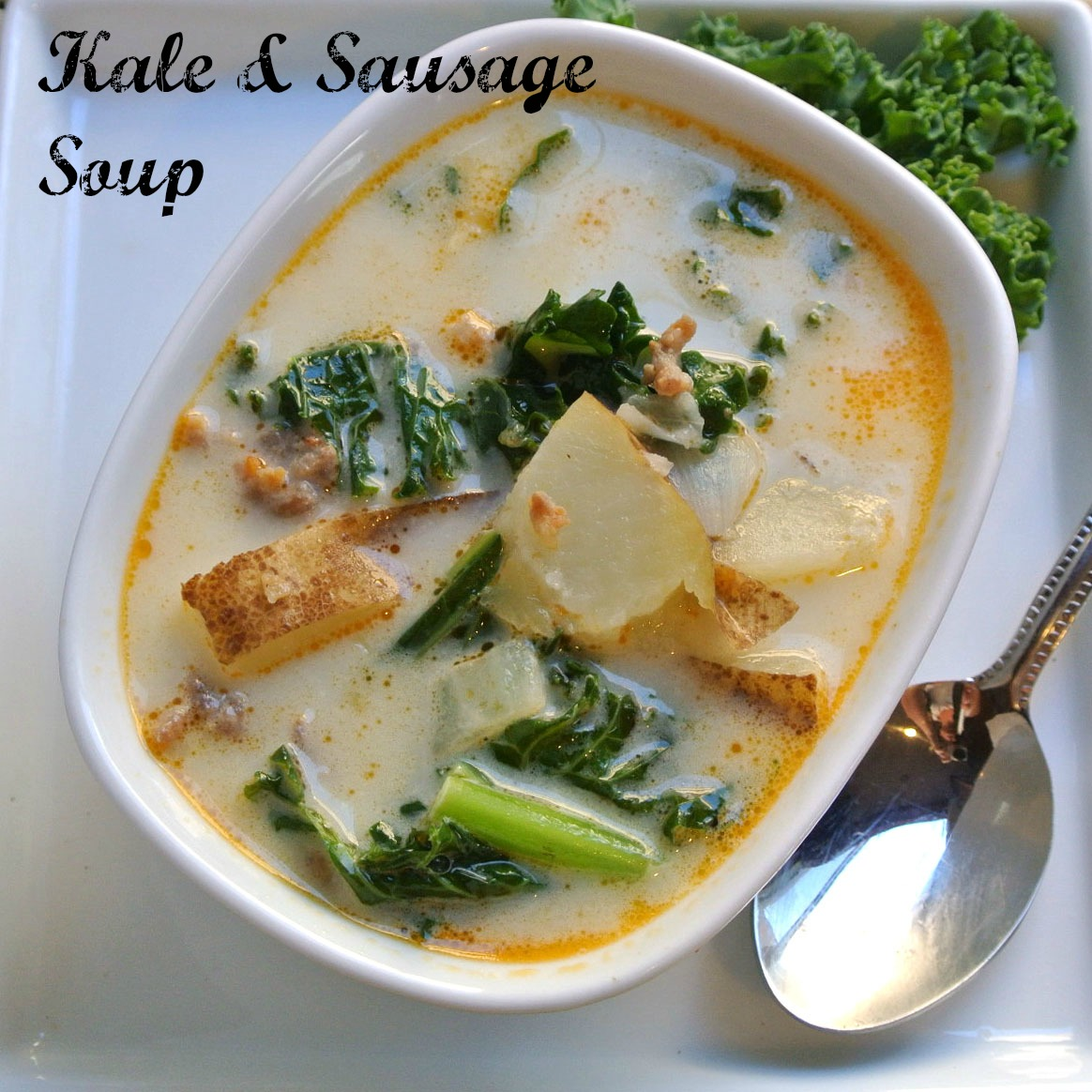 Mom, What's For Dinner?: Italian Sausage and Kale Soup and ...