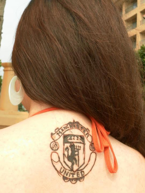 Manchester United tattoo