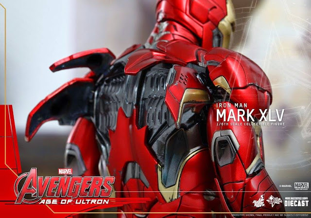 marvel iron man figures hot toys