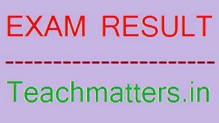 image : Result @ teachmatters.in
