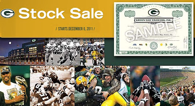 Buy Green Bay Packers Stocks on Packers.Com