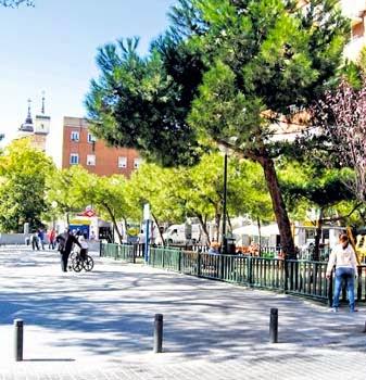 Noticias de la prospe prosperidad un barrio de origen for Barrio ciudad jardin madrid
