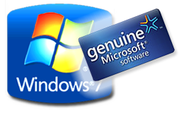 make Windows 7 Genuine using Command Prompt