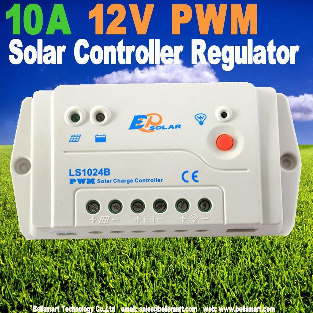 Belismartstore Belismartcom 10a Ls1024b Solar Charge Controller Pwm 12v 24v