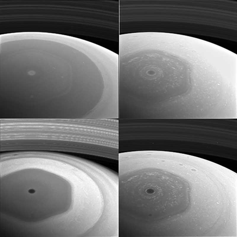 Cassini muestra imágenes de Saturno
