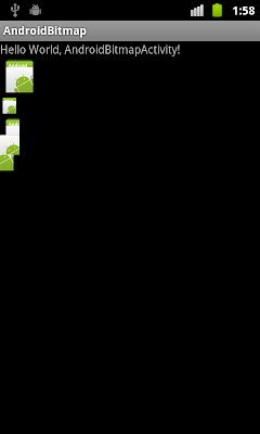 Bitmap processing: createScaledBitmap, getPixels and setPixels.