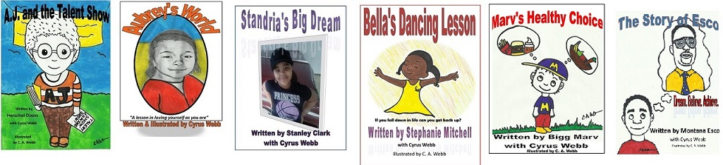 Children's Books Written/Co-Written by Cyrus Webb
