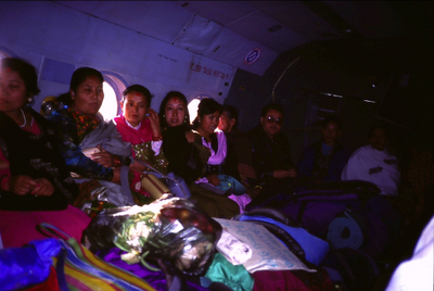 Eisriesen im Himalaya, Jomsom, Nepal Trekking