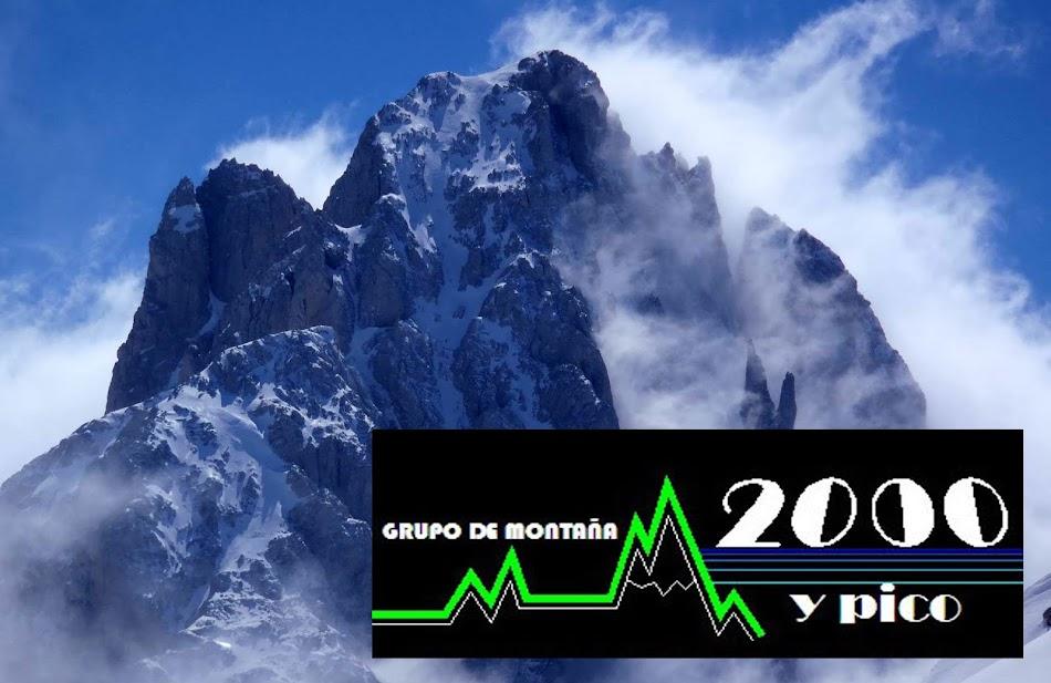 """Grupo de montaña  """"2000 y Pico"""""""