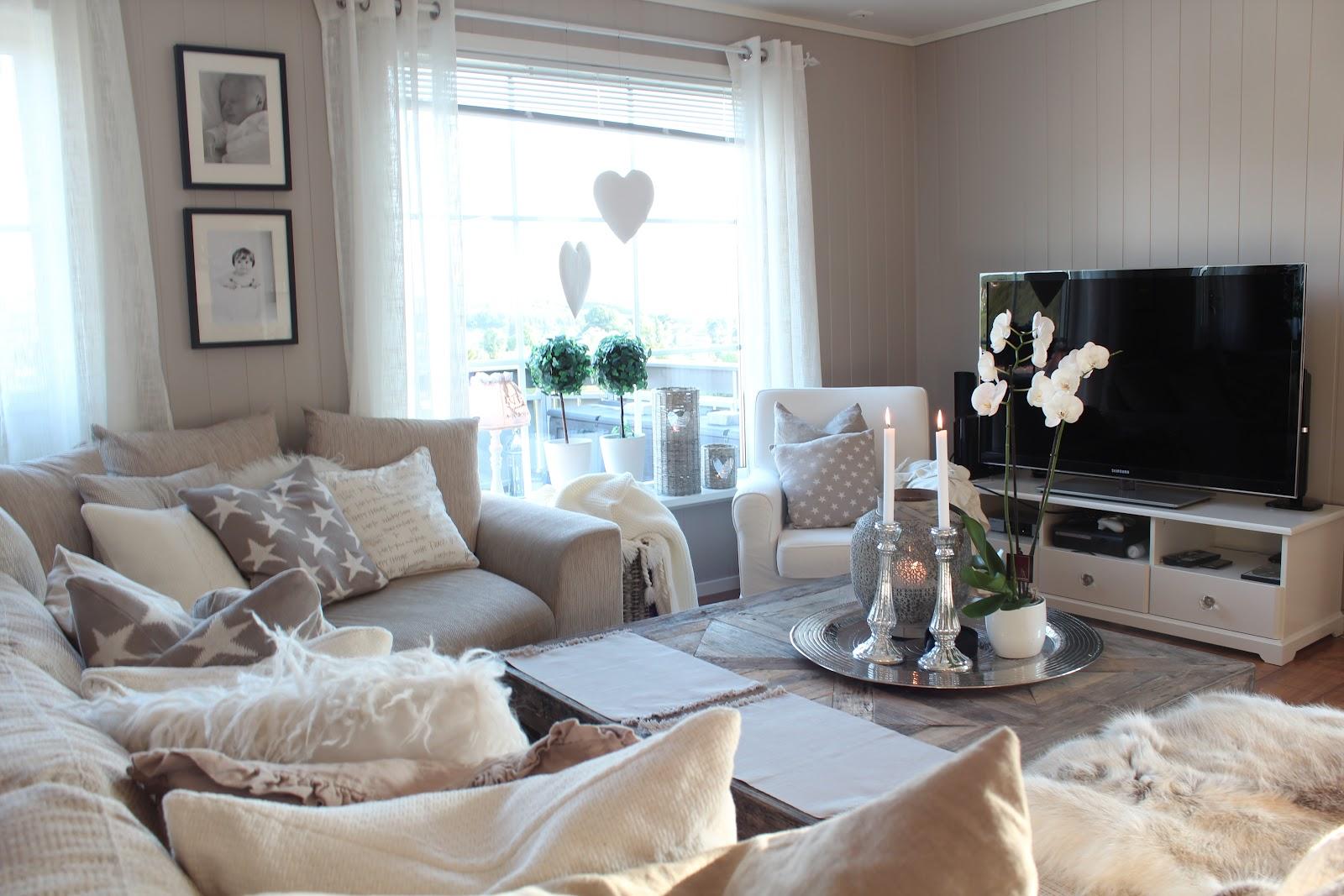 Fine farger til stue – La réparation des appartements