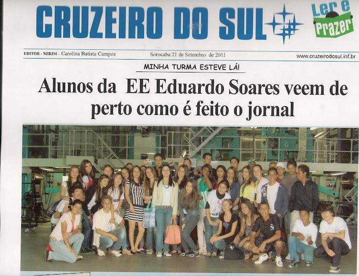 Visita ao Jornal Cruzeiro do Sul (Sorocaba-SP)