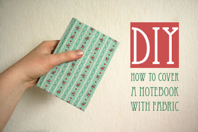 Fabric Covered Notebook, number 7 on list of christmas gifts under $5