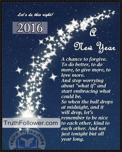 a new year a chance to forgive