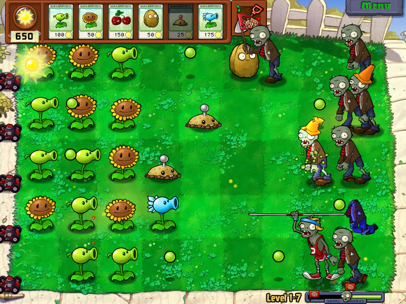 Plantas Vs Zombies [PC][Full][Español][Depositfiles][MEGA]