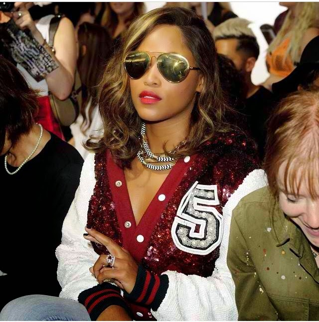 bomber Jacket and shades