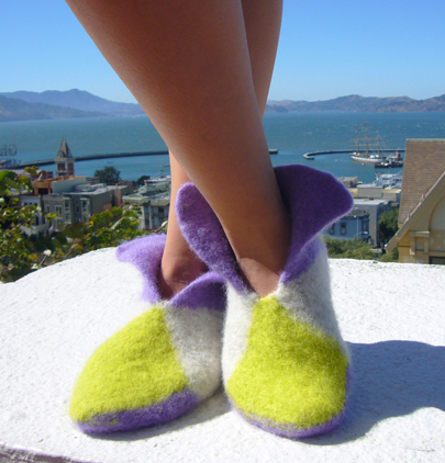 How To Knit Color Block Booties Iknits