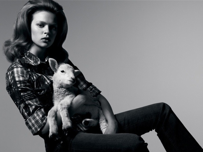 via fashioned by love | lambs in fashion editorials