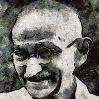'Mahatma Gandhi (Lídia M. Nogales)'