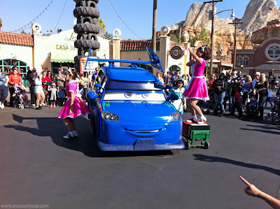 DJ Cars Land Carsland Dance Drive DCA Radiator Disney