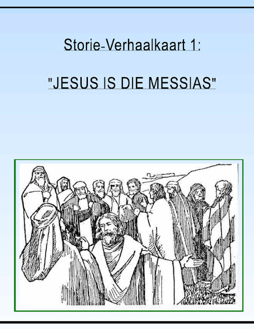 Storie verhaalkaart 1 jesus is die messias