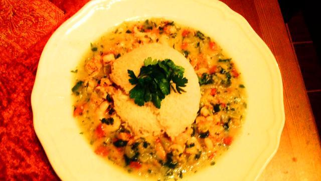 Lousiana Crawfish Etouffee