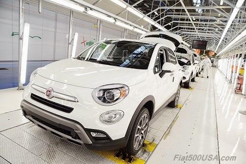Fiat 500X Assembly Line