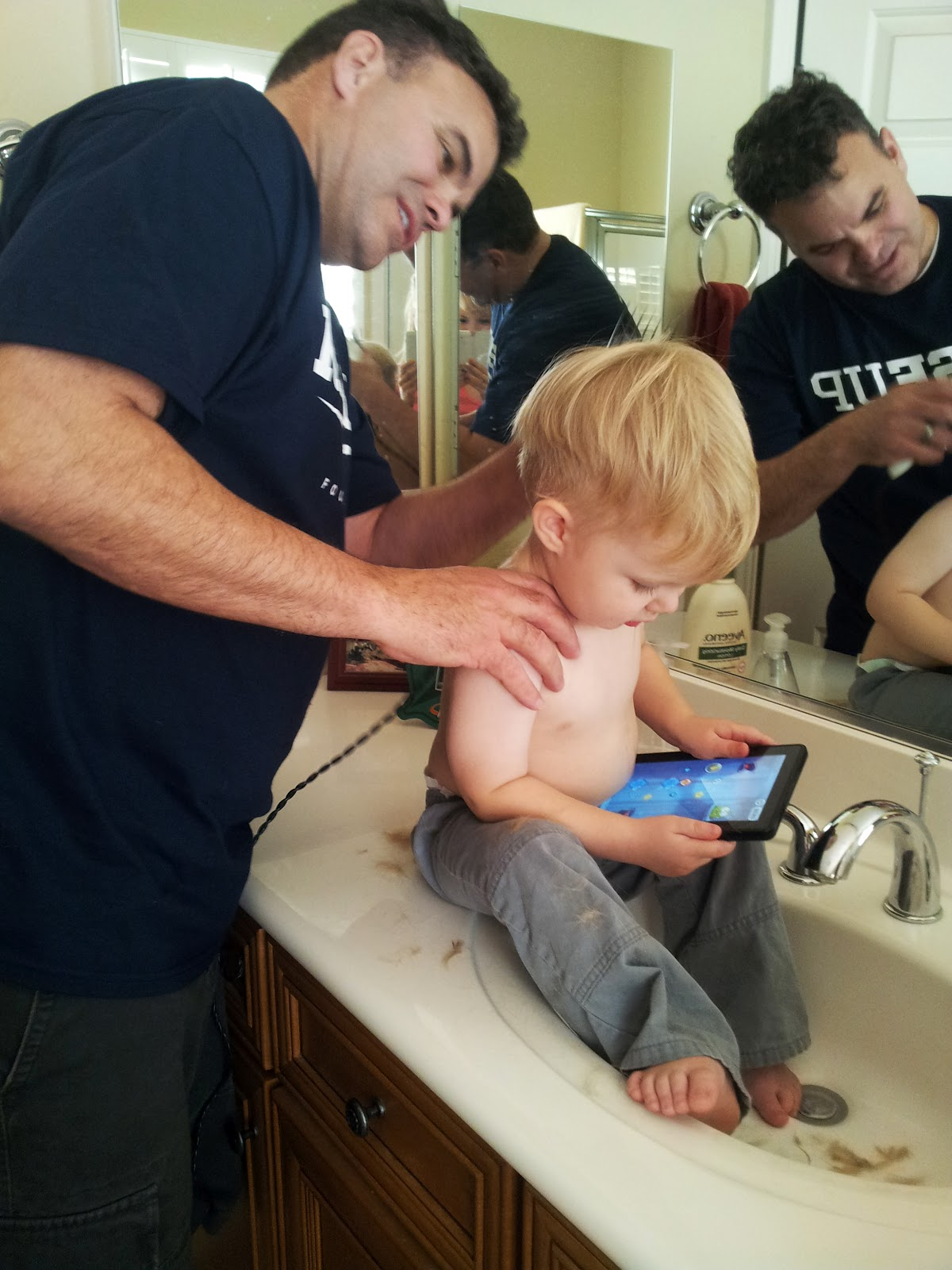 Mom The Intern How To Give A Toddler A Haircut