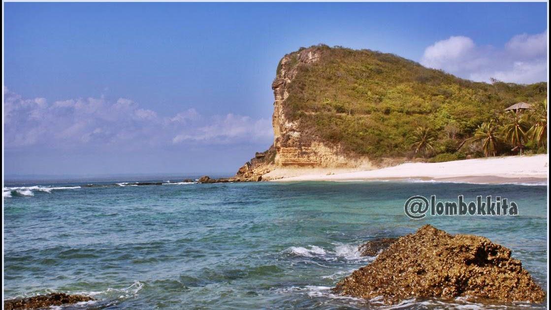 Objek Wisata Pantai Surga Di Lombok Guru Madrasah Blog