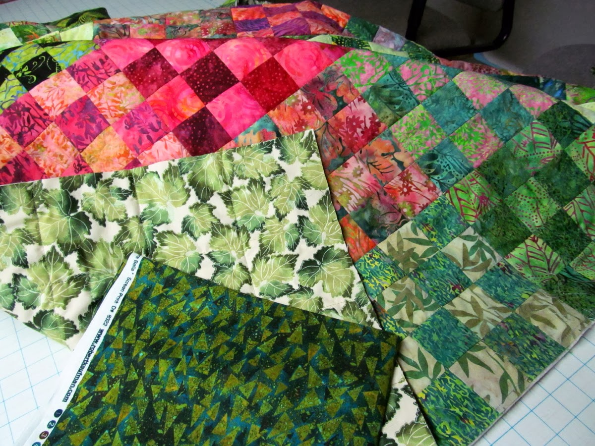 how to finish a quilt without using binding