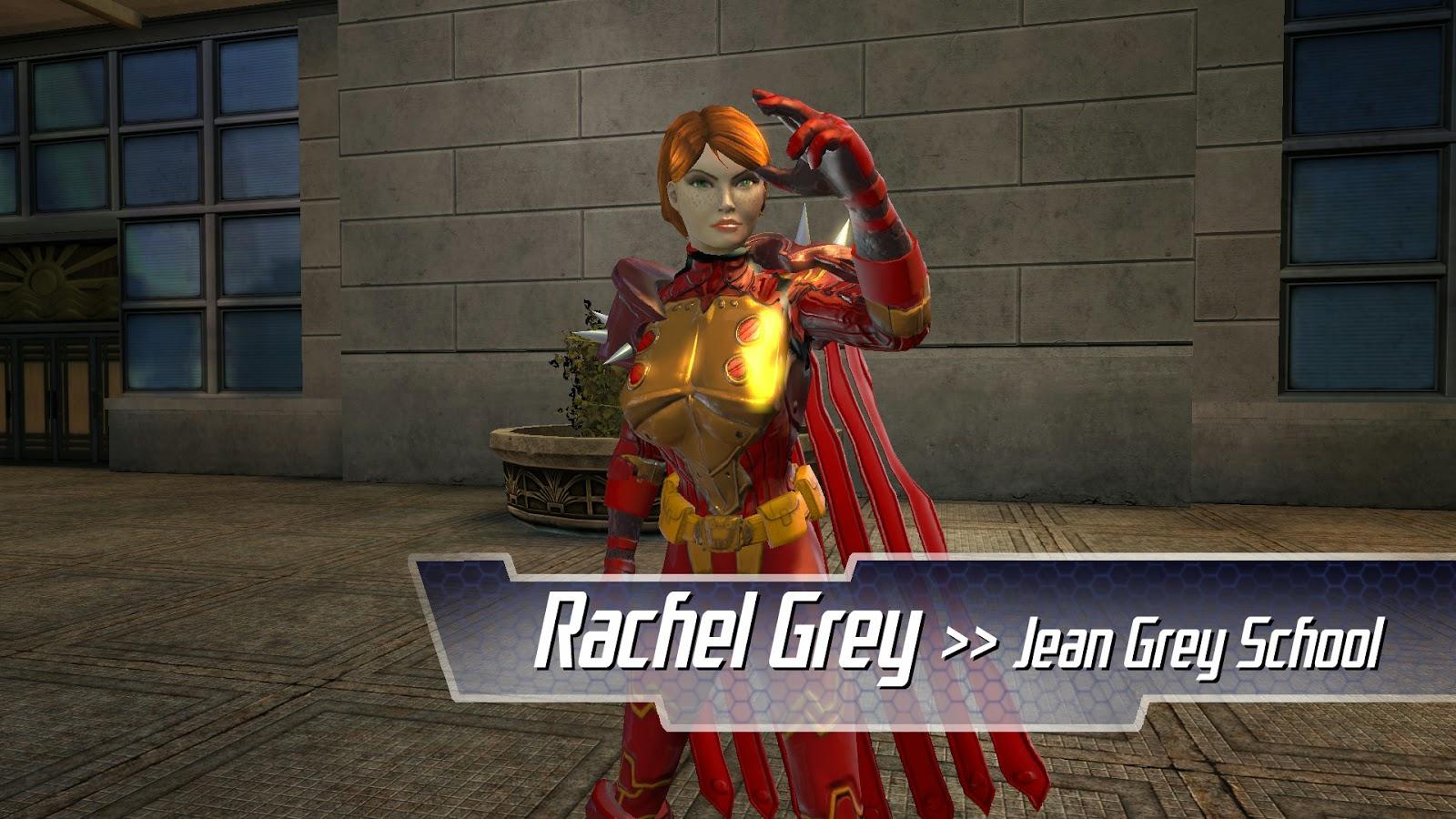 Marvel Universe Online Rachel Grey Jean Grey School