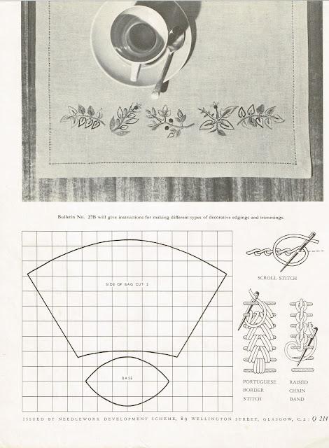 "Needlework Development leaflet ""Bulletin 26B Page 3"