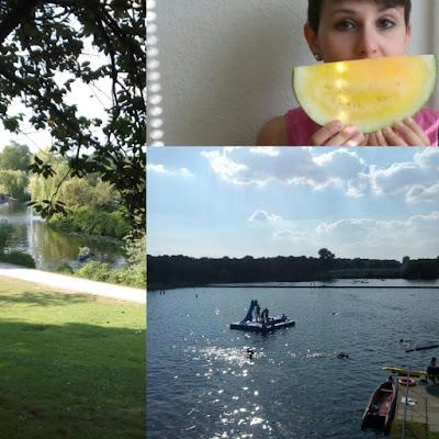 Stadtpark , hamburg, summertime