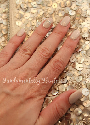 Fundamentally Flawless Wedding Outfit Nails and Accessorize Clutch