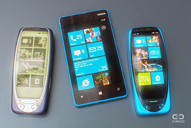 Nokia 3310 Ketika dibandingkan dengan ponsel Windows Phone