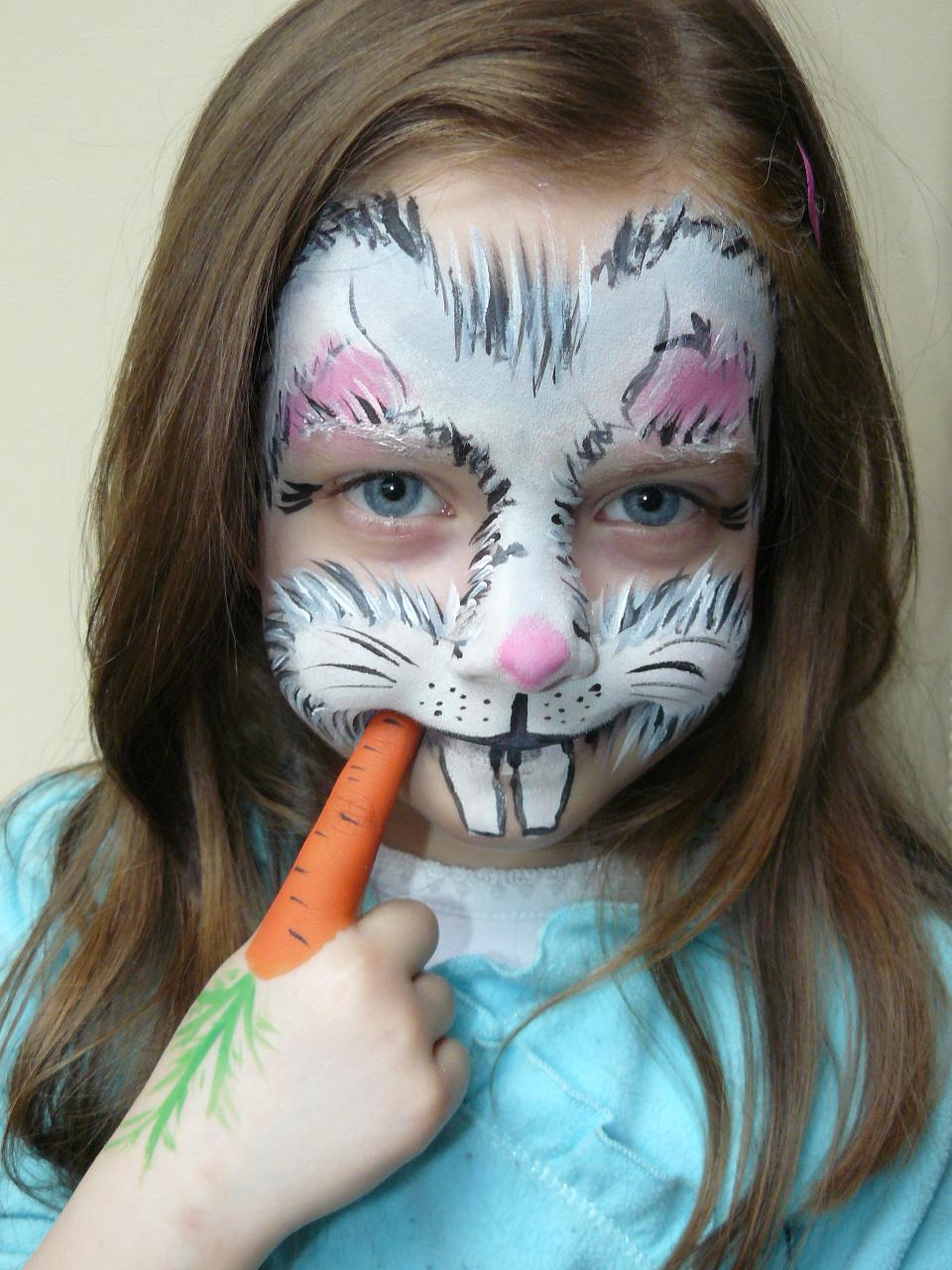 Maremis Face And Body Painting Malowanie Twarzy Dzieci Krolik