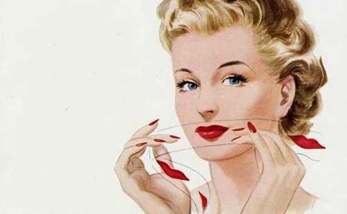 Antiguos tips de maquillaje que ya hemos olvidado