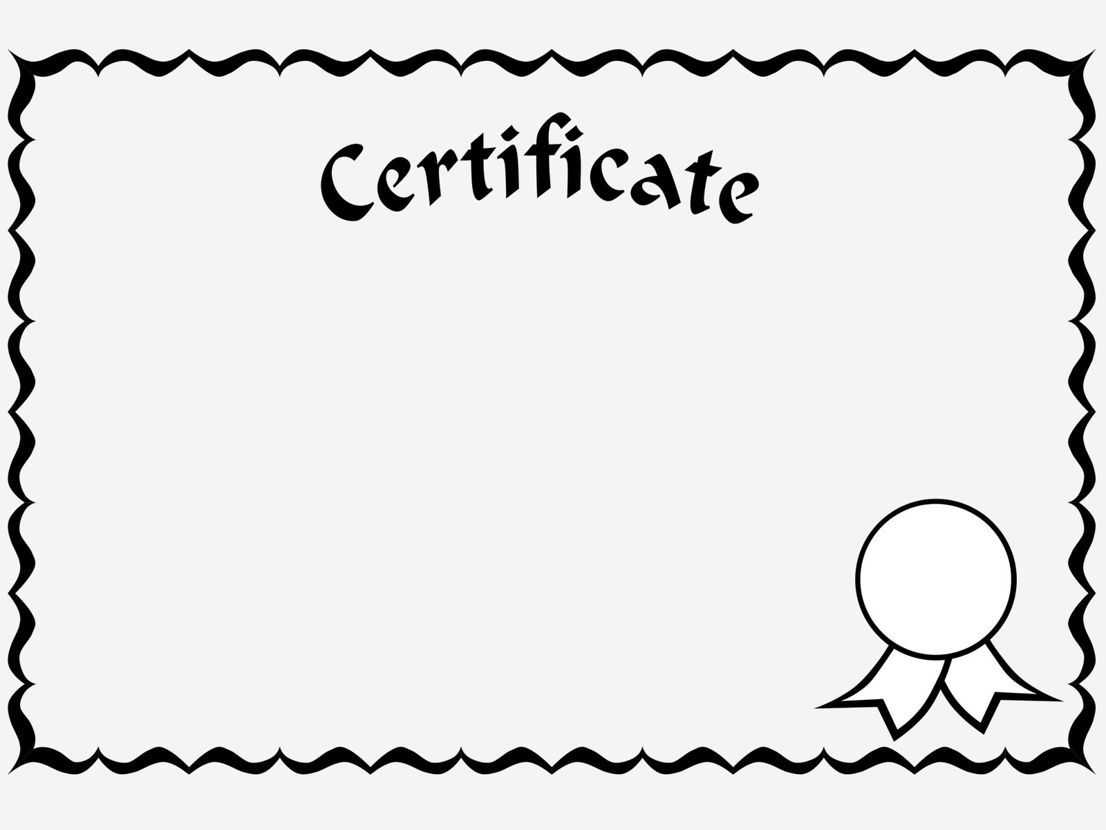 powerpoint award certificate border templates .