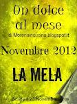 Un dolce al mese - Sfida di Novembre 2012