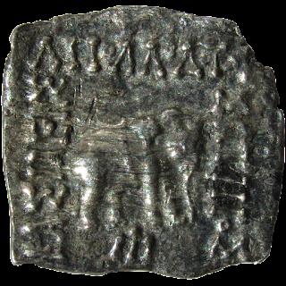 [IGK001] Indo Greek Coin - Apollodotus 1 Silver Drachma